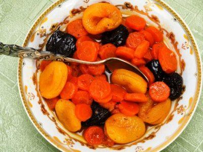 rhea's sweet tzimmes from The Jewish Kitchen