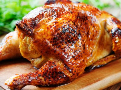 roast chicken in a hurry from The Jewish Kitchen