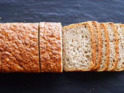 homemade whole wheat bread from The Jewish Kitchen