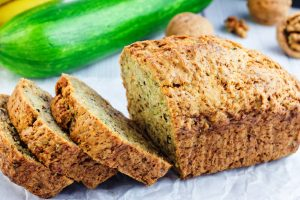 zucchini banana bread from The Jewish Kitchen