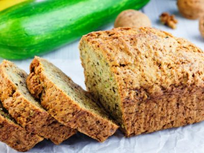 zucchini banana bread from The Jewish Kitchen